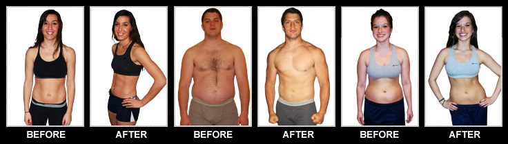 Insanity Workout Before and After Pics